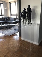 Clear Acrylic Pedestal