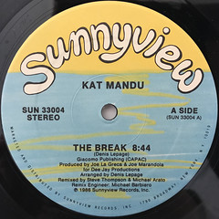 KAT MANDU:THE BREAK(LABEL SIDE-A)