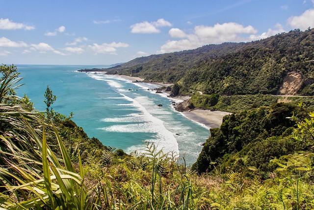 Cote ouest, ile du Sud, NZ