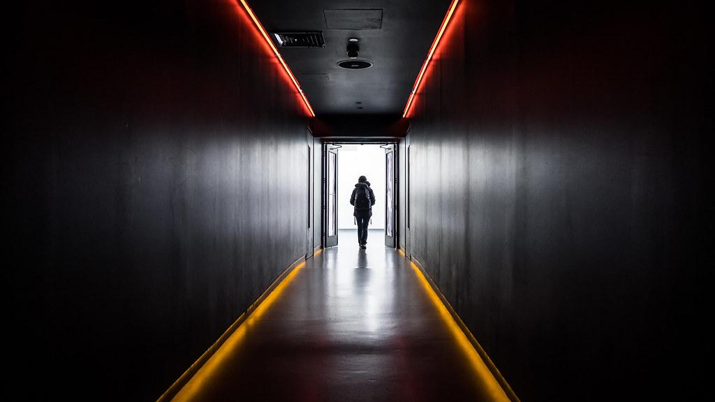 Behind the gates - Dublin, Ireland - Street photography