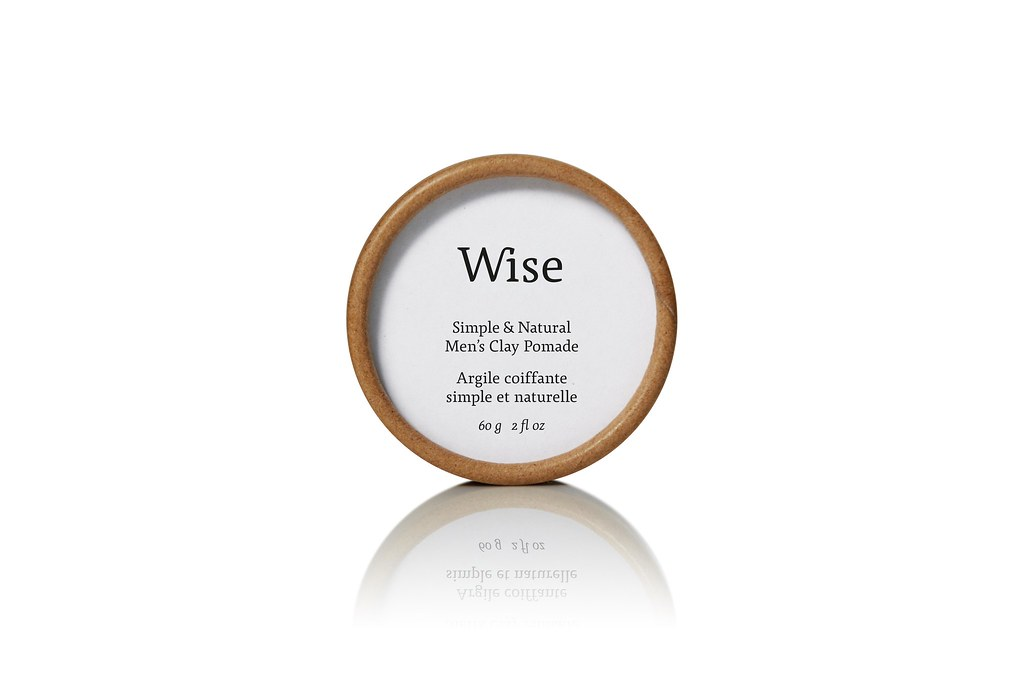 Wise clay pomade