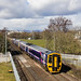 Scotrail 158s on 2P77 at Stirling