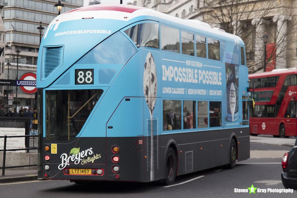 b1f04780d893 Wrightbus NRM NBFL - LTZ 1457 - LT457 - Breyers Delights - Camden Town 88 -