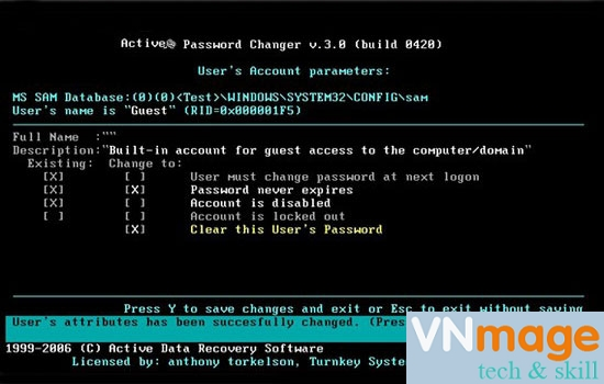 fix lost password laptop