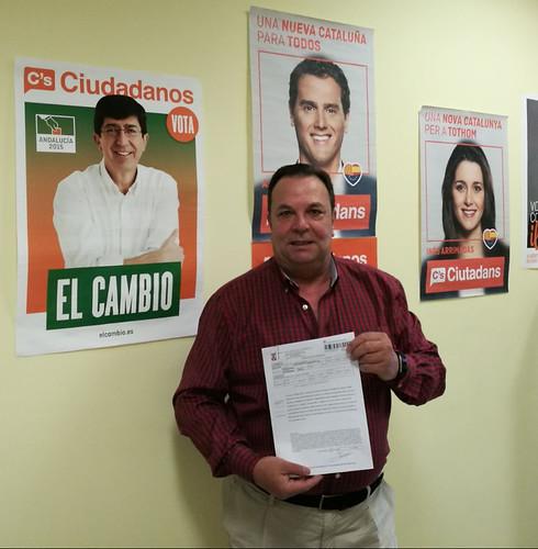 Concejal de Ciudadanos, Pedro Taborda