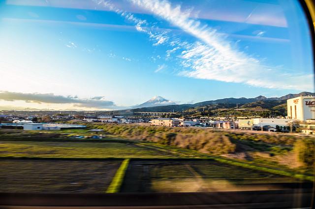 Fuji from Shinkansen