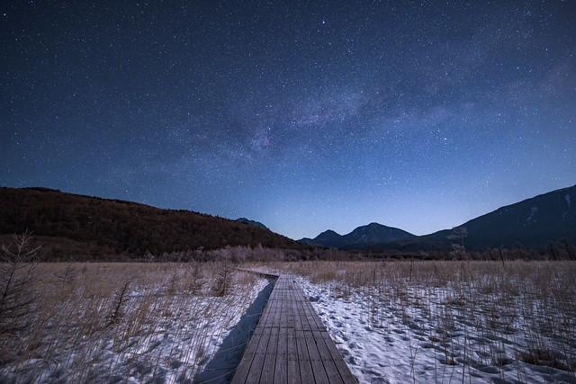 Summer stars rising to minus 20 °C