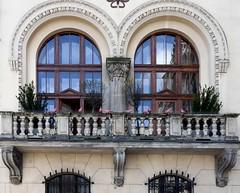 Kraków... windows, gates, balconies and architectural ornaments