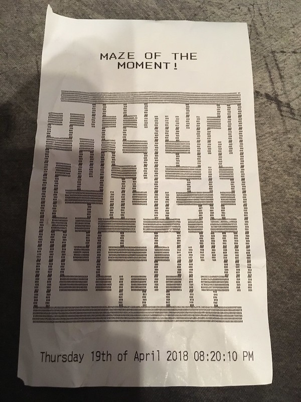Maze of the Moment