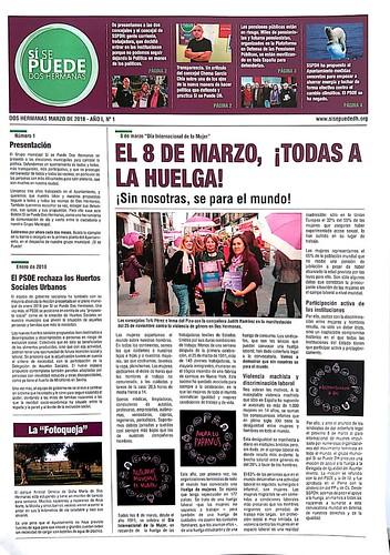 Boletín Informativo de Sí se puede Dos Hermanas