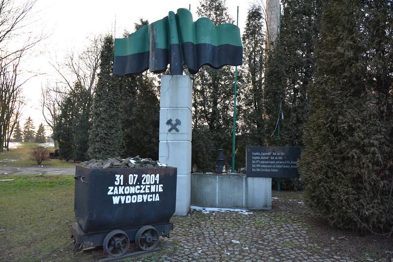 Pomnik Kopalni Rozbark w Bytomiu