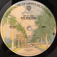 JESSE COLIN YOUNG:ON THE ROAD(LABEL SIDE-A)