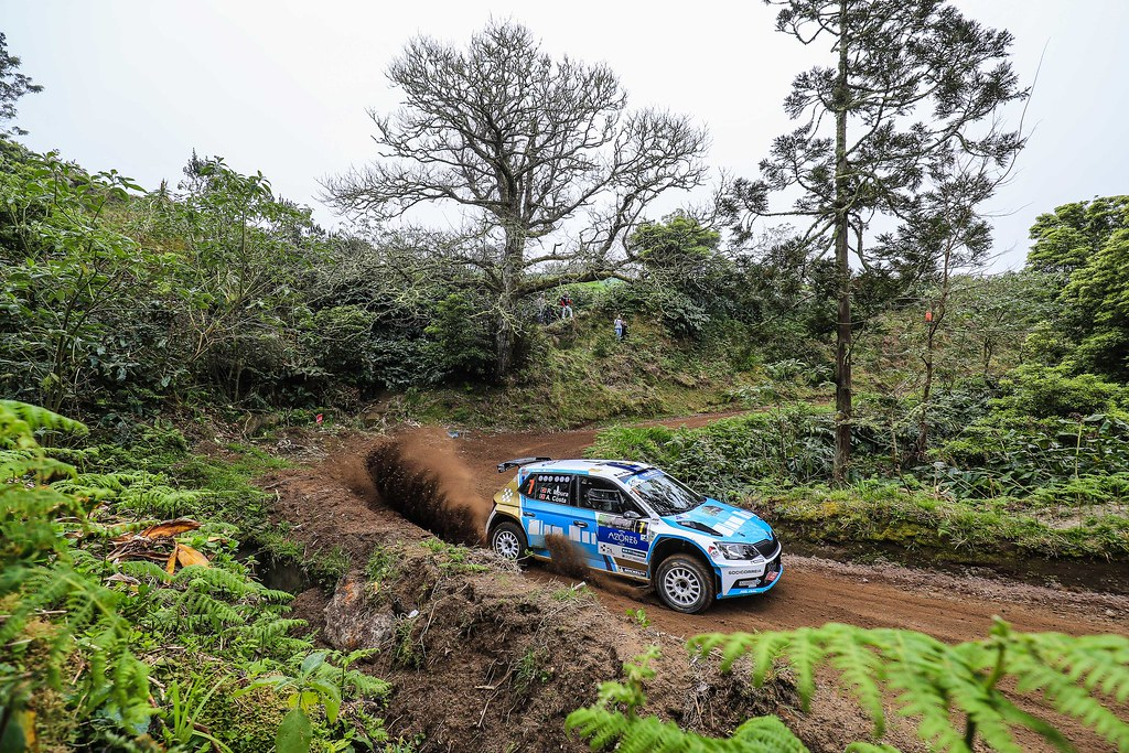 07 MOURA Ricardo (prt), COSTA Antonio (prt), FORD FIESTA R5, action during the 2018 European Rally Championship ERC Azores rally,  from March 22 to 24, at Ponta Delgada Portugal - Photo Jorge Cunha / DPPI
