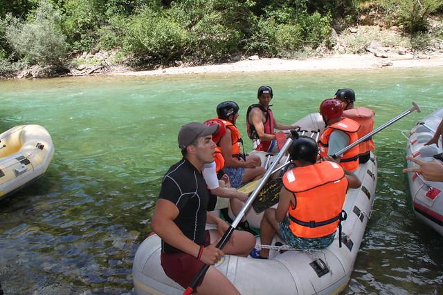 Mini rafting na rijeci Neretvi