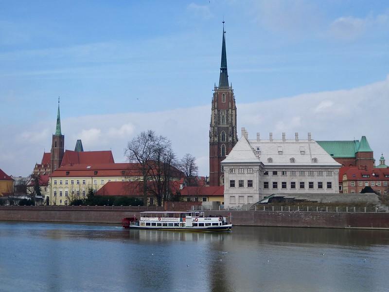 River Oder, Wroclaw