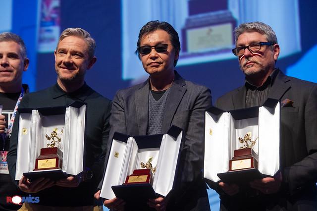 Premiazione Romics d'Oro XXIII edizione