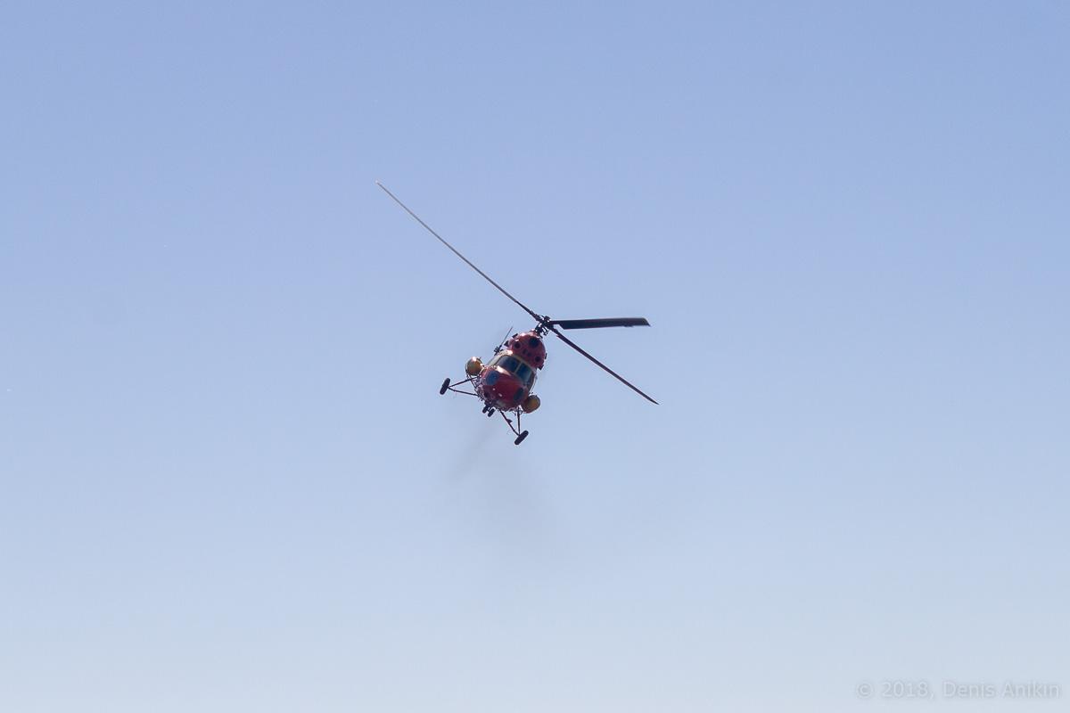 Вертолёт Ми-2 выступление фото 6