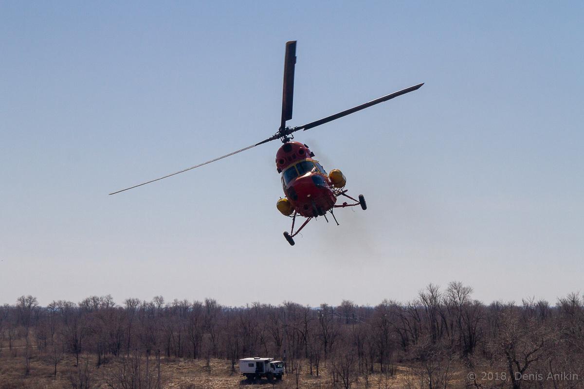 Вертолёт Ми-2 выступление фото 4