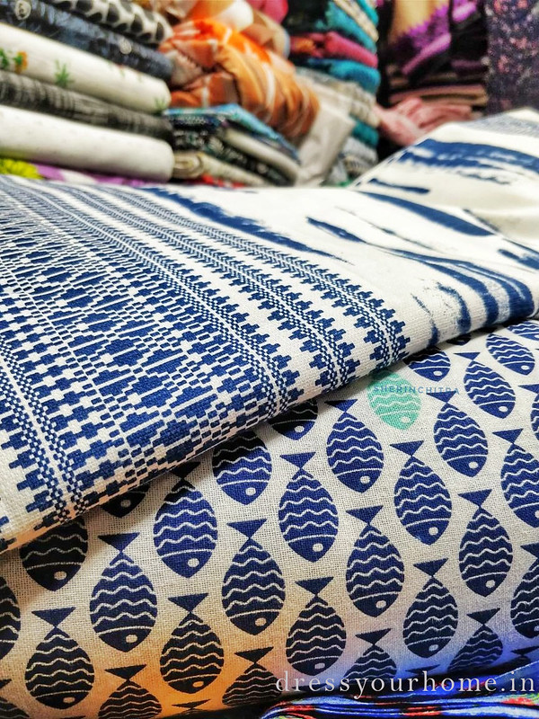 Where to shop for cotton fabrics in Chennai
