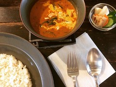 butter chicken curry❤︎ ・ ・ ・ #バターチキンカレー #オキシモロン #カレー #北浜 #大阪 #butterchickencurry #curry #oxymoron #kitahama #osaka #japan