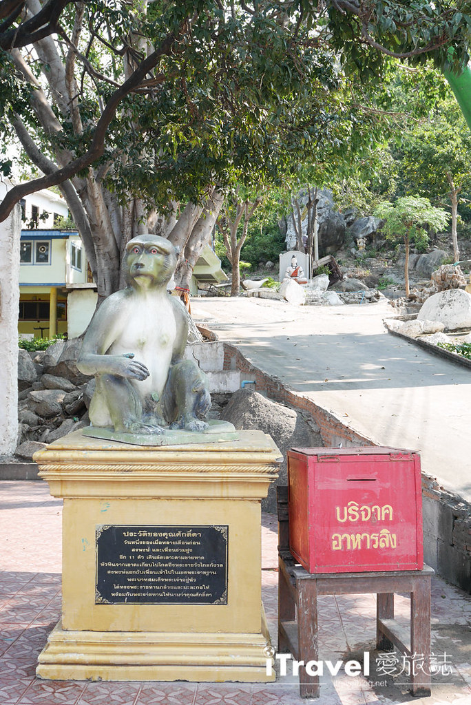 华欣景点推荐 考佬寺Wat Khao Takiap (28)