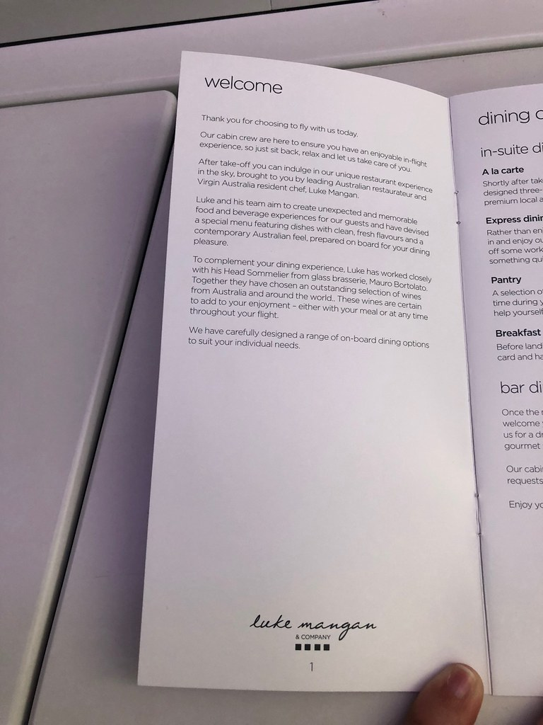 Virgin Australia business class 78