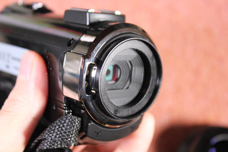 TOMTOP Andoer 4K ビデオカメラ 開封レビュー (87)