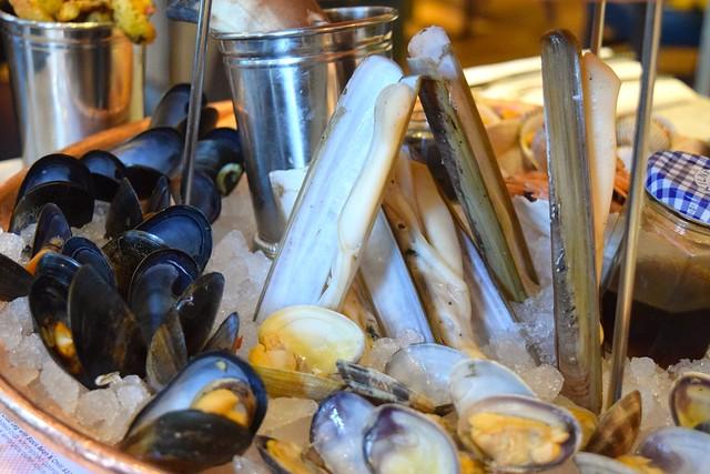 Razor Clams at Fancy Crab, Marylebone