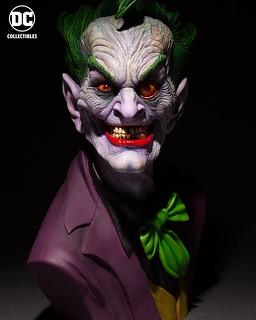 極致的製作水準完美襯托出無止盡的瘋狂!! DC Collectibles DC Gallery 系列【小丑by Rick Baker】The Joker by Rick Baker 1:1 比例胸像作品 標準版 / 終極版