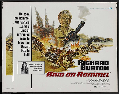 Raid on Rommel - Poster 3