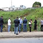 qui, 12/04/2018 - 08:08 - Visita Técnica para avaliar fissuras entre ponte e o asfalto no bairro Betânia - 12/04/2018 - Local: Rua Úrsula Paulino, próximo ao número 200 Foto: Bernardo Dias/CMBH