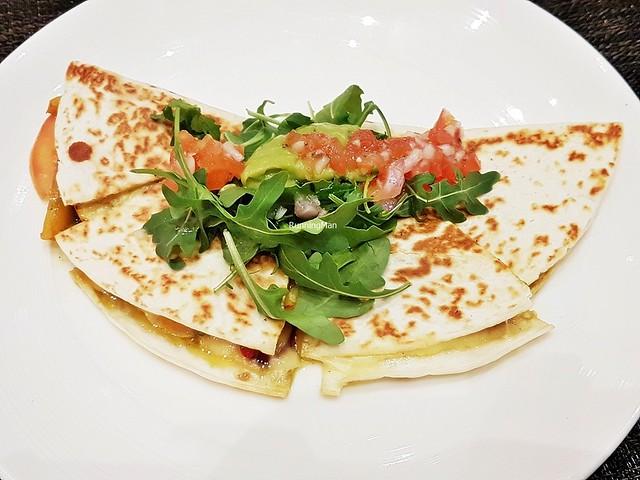 Vegetable Tortilla Quesadilla