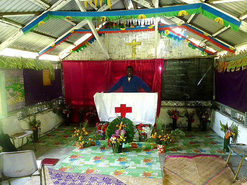 God and Christian belief plays an important part in ni-Vanuatu life, but must also allow for long standing Kastoms ( customs and traditions) that are present in everyday living.
