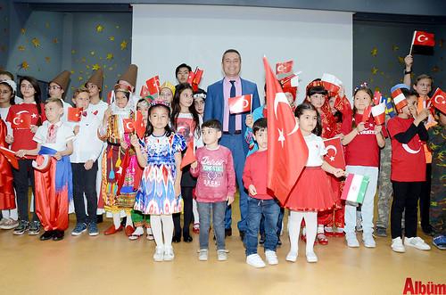 Alanya'da İstiklal Marşı'nı okumak için yarıştılar-1