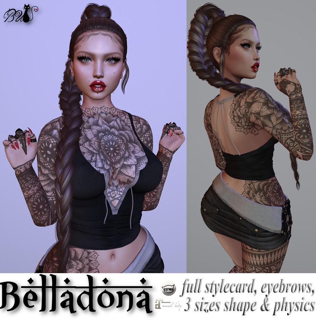 Belladona Bento Shape ❤️ - TeleportHub.com Live!