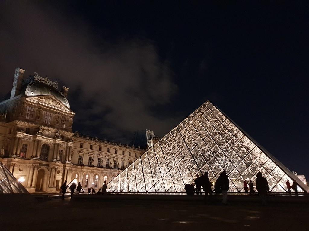 羅浮宮金字塔Pyramide du Louvre-1