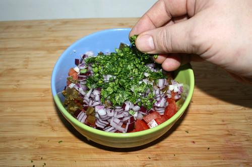 44 - Koriander hinzufügen / Add cilantro