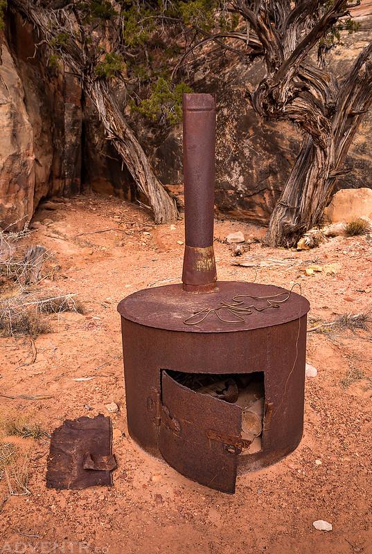 Cowboy Camp Stove