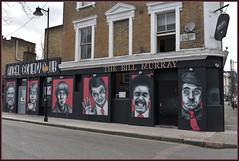 Zabou Street Art: Islington London