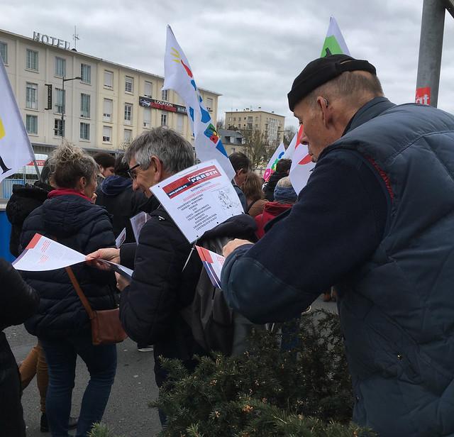 Manifestation du 22 mars 2018 à Caen