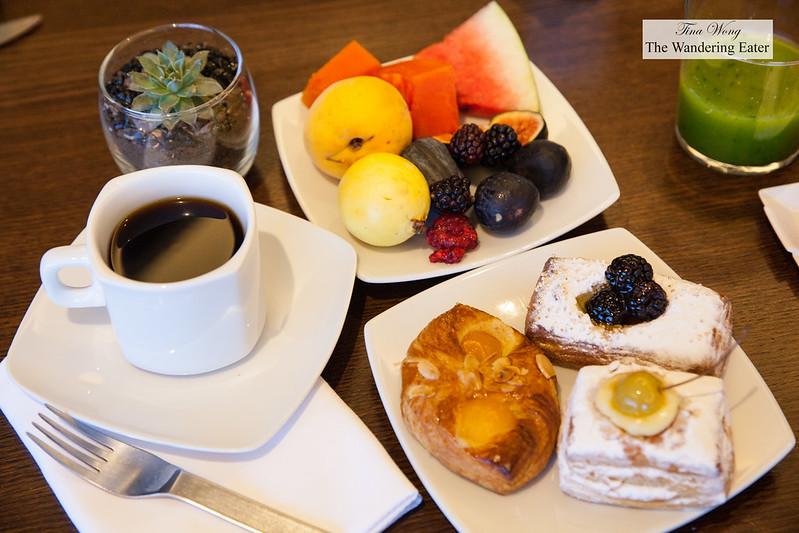 Breakfast for one morning