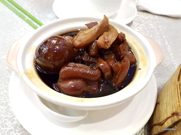 Boiled Pig Trotters & Egg Ginger in Sweetened Vinegar