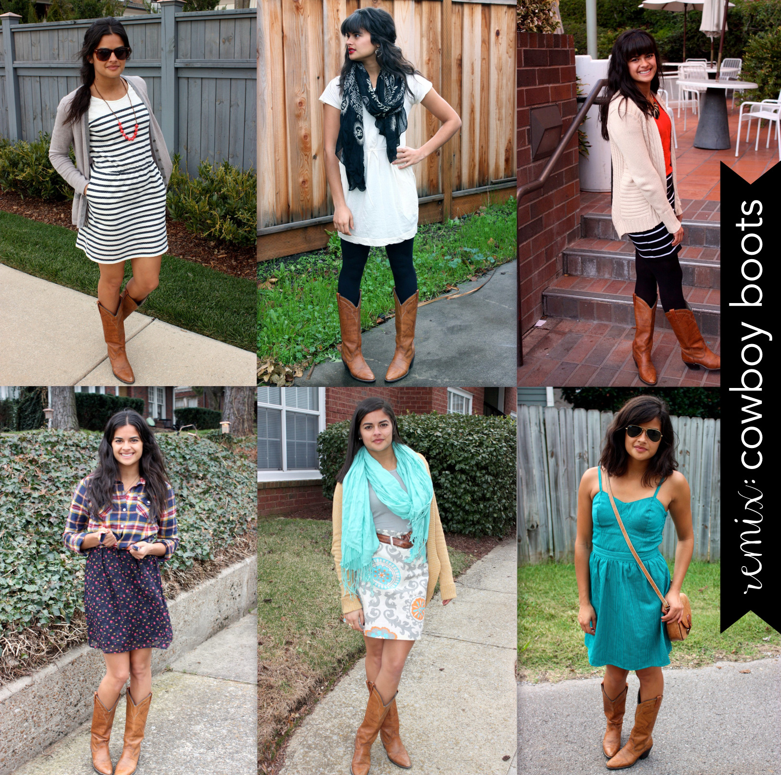 Priya the Blog, Nashville fashion blog, Nashville fashion blogger, cowboy boot remix, how to wear cowboy boots, vintage cowboy boots