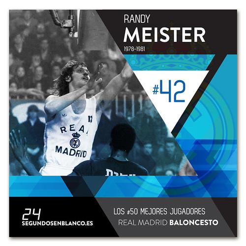 #42 RANDY MEISTER