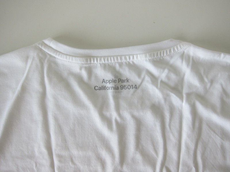 Apple Park T-Shirts - White - Address