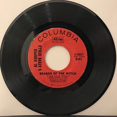 AL KOOPER & STEVE STILLS:SEASON OF THE WITCH(RECORD SIDE-A)