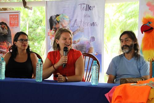 """Lanzamiento de la Primera Formación en Educación para la Paz """"El Tesoro de Pazita"""""""