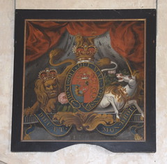 George III royal arms 1800