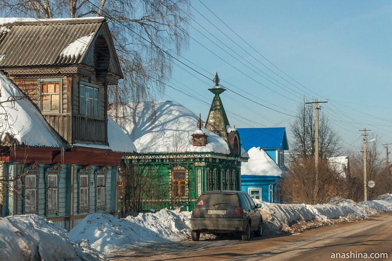 Деревянные дома по Коммунистической улице, Солигалич