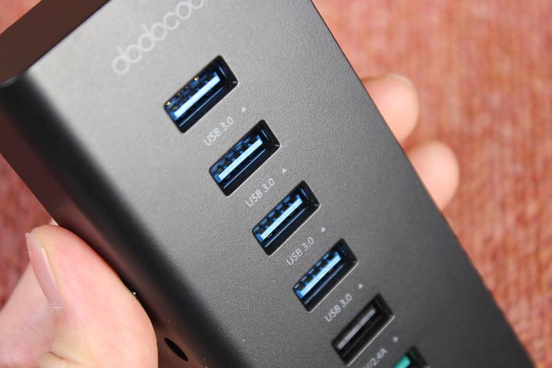 dodocool 7ポート USBハブ 開封レビュー (21)